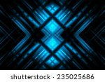 abstract blue background with... | Shutterstock . vector #235025686