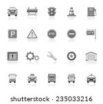 traffic icons | Shutterstock .eps vector #235033216