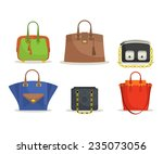 set of woman's bags