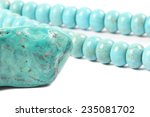 Turquoise Necklace Isolated