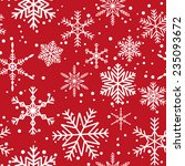 seamless pattern with white... | Shutterstock .eps vector #235093672