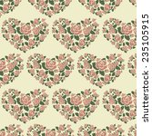 repeating pattern with abstract ... | Shutterstock .eps vector #235105915