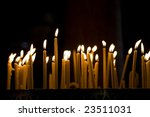 Candles In The Church  Madaba ...