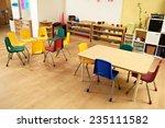 montessori kindergarten...   Shutterstock . vector #235111582
