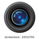 vector illustration of a camera ...