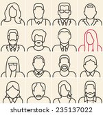 people outline silhouettes on...