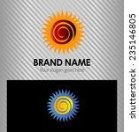 vector illustration of sun   Shutterstock .eps vector #235146805