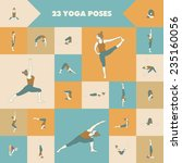 Постер, плакат: Yoga Set of twenty