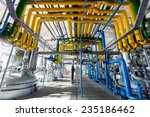 pipelines of an oil refinery... | Shutterstock . vector #235186462