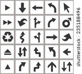 arrow icons | Shutterstock .eps vector #235188496