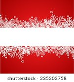 christmas background | Shutterstock .eps vector #235202758