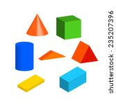 children's toys  blocks ... | Shutterstock .eps vector #235207396