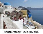 greece  santorini  oia   Shutterstock . vector #235289506