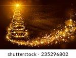 christmas magic tree with...