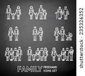 multigenerational family... | Shutterstock .eps vector #235326352