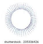 watercolor circles seamless... | Shutterstock . vector #235336426