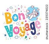 bon voyage   Shutterstock .eps vector #235374022