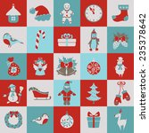 set of christmas and new year... | Shutterstock .eps vector #235378642