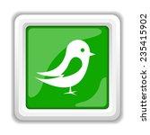 bird icon. internet button on...   Shutterstock . vector #235415902