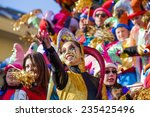 viareggio  italy   february 21  ... | Shutterstock . vector #235425496