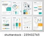 collection of infographic... | Shutterstock .eps vector #235432765