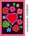 valentines cart | Shutterstock . vector #23548639