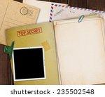folder with top secret stamped... | Shutterstock . vector #235502548