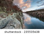 Great Falls National Park River Trail Mather Gorge Sunrise Scenic