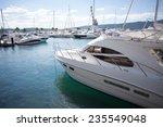 Marina With Luxury Boats
