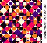 seamless vector geometric... | Shutterstock .eps vector #235554082