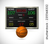 illustration of a basketball...   Shutterstock .eps vector #235568332