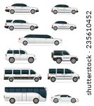 set of cars for the... | Shutterstock . vector #235610452