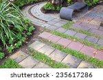 Garden Design Walk Way