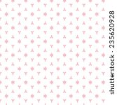 pink graphic pattern for... | Shutterstock .eps vector #235620928