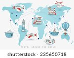 Travel Set. Icons Collection O...