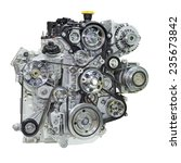 car engine. concept of modern... | Shutterstock . vector #235673842