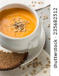 Pumpkin Creme Soup With...