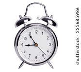five to nine on a round alarm... | Shutterstock . vector #235685986