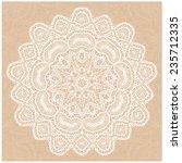 ornamental lace pattern | Shutterstock .eps vector #235712335