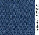 blue fabric texture closeup. ... | Shutterstock . vector #235731352