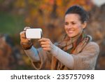 closeup on young woman in... | Shutterstock . vector #235757098