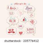 Valentine's Day Design  Labels...