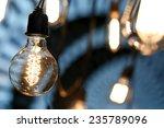 bulb with bokehs in festival   Shutterstock . vector #235789096