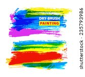 vector hand drawing... | Shutterstock .eps vector #235793986