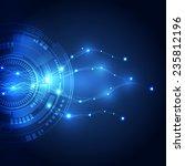 abstract vector internet...   Shutterstock .eps vector #235812196