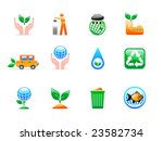 ecology icons | Shutterstock .eps vector #23582734
