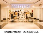 singapore   oct 19   forever 21 ... | Shutterstock . vector #235831966