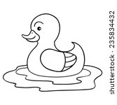 Coloring Book  Duck