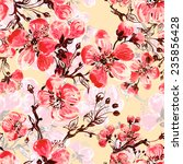 seamless pattern of spring... | Shutterstock . vector #235856428