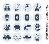 ecology icons.vector. eps 10 ... | Shutterstock .eps vector #235874752